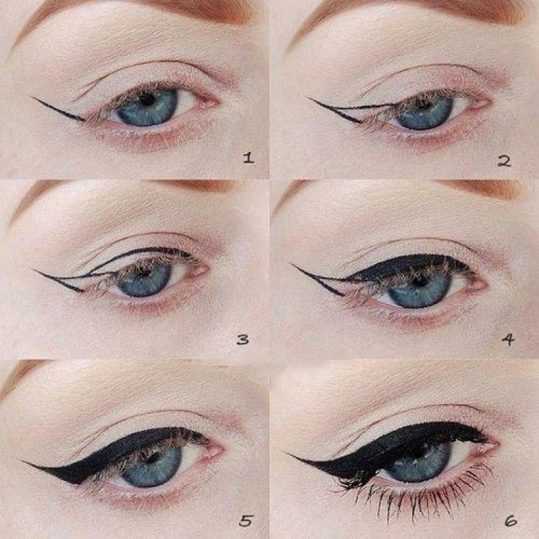 6 astuces pour appliquer votre eyeliner la perfection. Black Bedroom Furniture Sets. Home Design Ideas