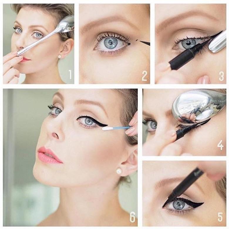 6 astuces pour appliquer votre eyeliner la perfection les claireuses - Comment mettre de l eye liner ...