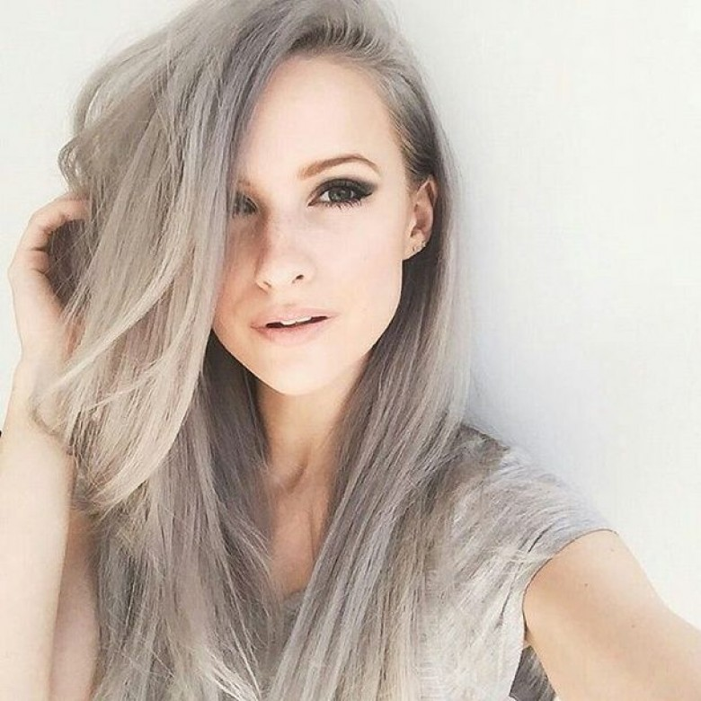 Coloration cheveux gris chatain