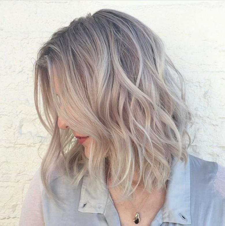 sand hair le nouveau gris - Coloration Ton Sur Ton Blond