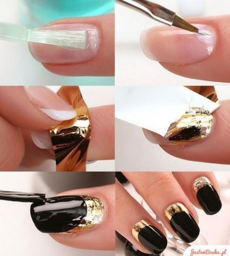 10 superbes fa ons de porter le vernis ongles noir les claireuses - Vernis a ongle noir ...