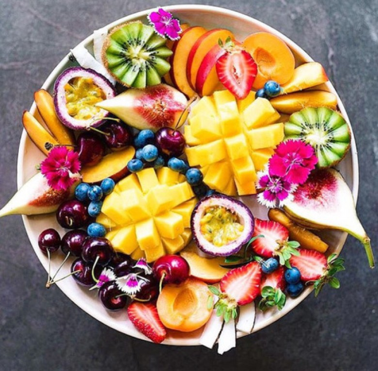 turkey fruit platter tropical fruits