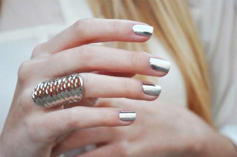 Exceptionnel 5 sublimes façons de faire un metallic Nails - Les Éclaireuses TM48