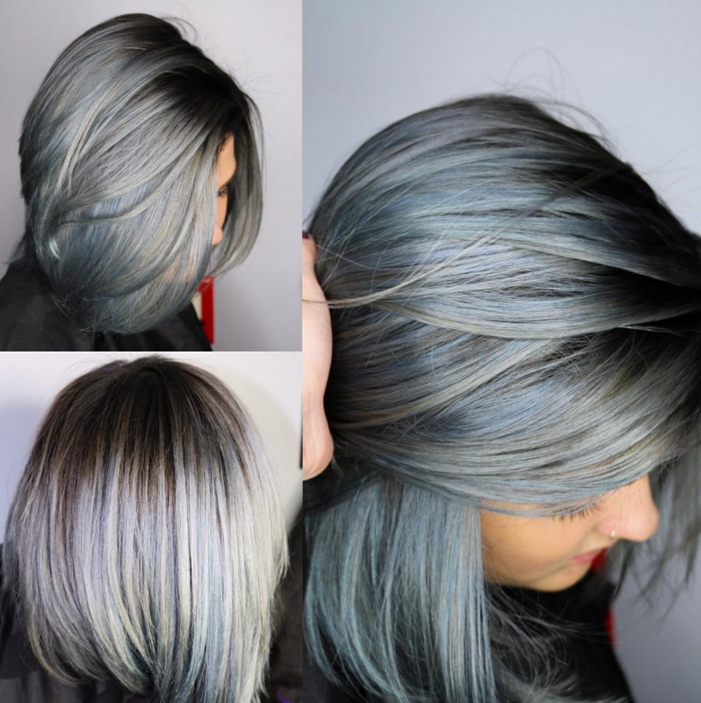 Denim Dye Hair  Quand La Couleur De Nos Cheveux Vole