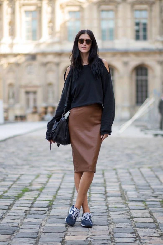 super cheap utterly stylish new authentic 5 façons d'associer jupes et baskets pour un style fou !