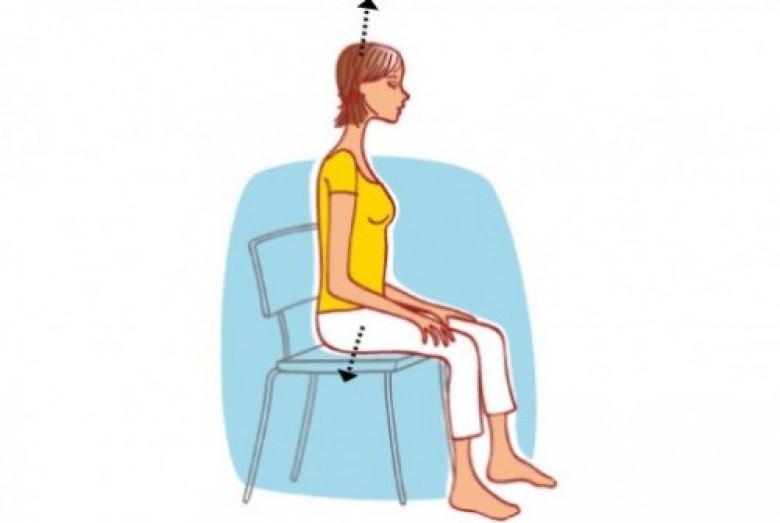 Des exercices faire depuis votre si ge de bureau les for Abdos assis sur une chaise