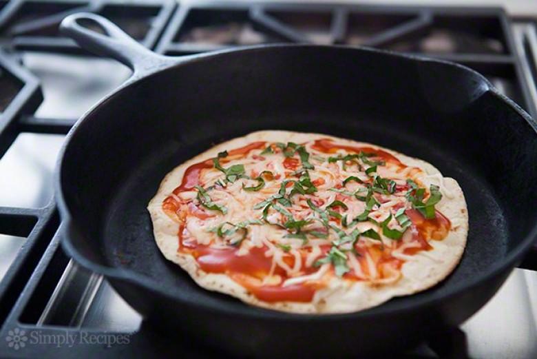 Attractive Pate A Pizza Collante #6: 1 - Pizza Sur Tortilla