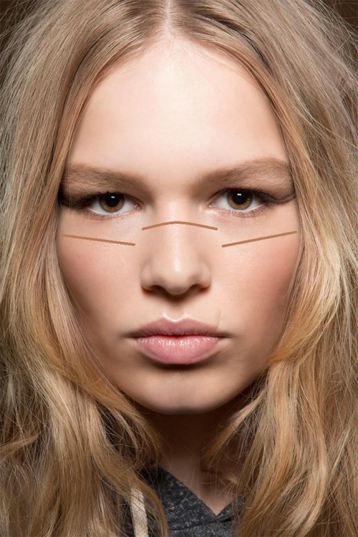 Le Sun stripping : la technique makeup qui va vous ...