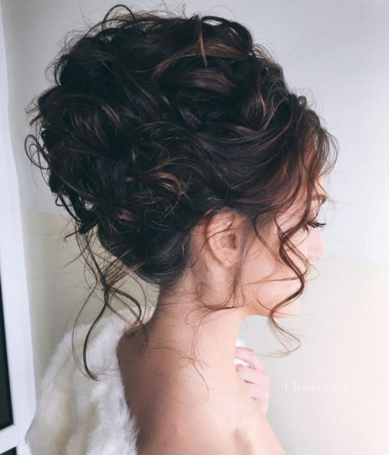 Prom hairstyles 2018 half up half down curly