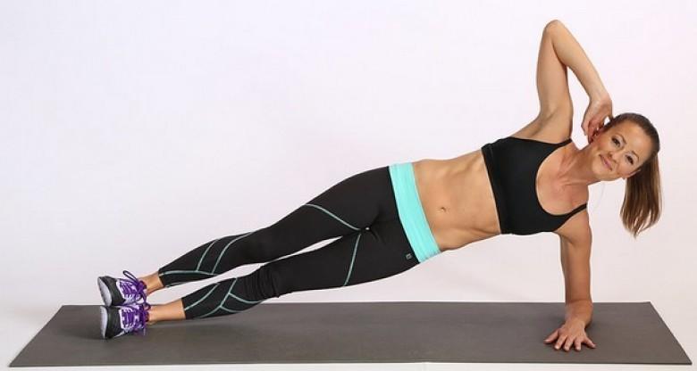 exercice hanche femme
