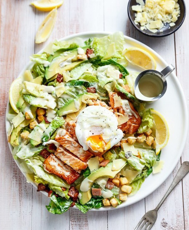 10 id es originales de salades gourmandes et healthy les for Idee plat convivial pour 10 personnes