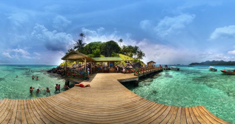 Les éclaireuses des Bahamas