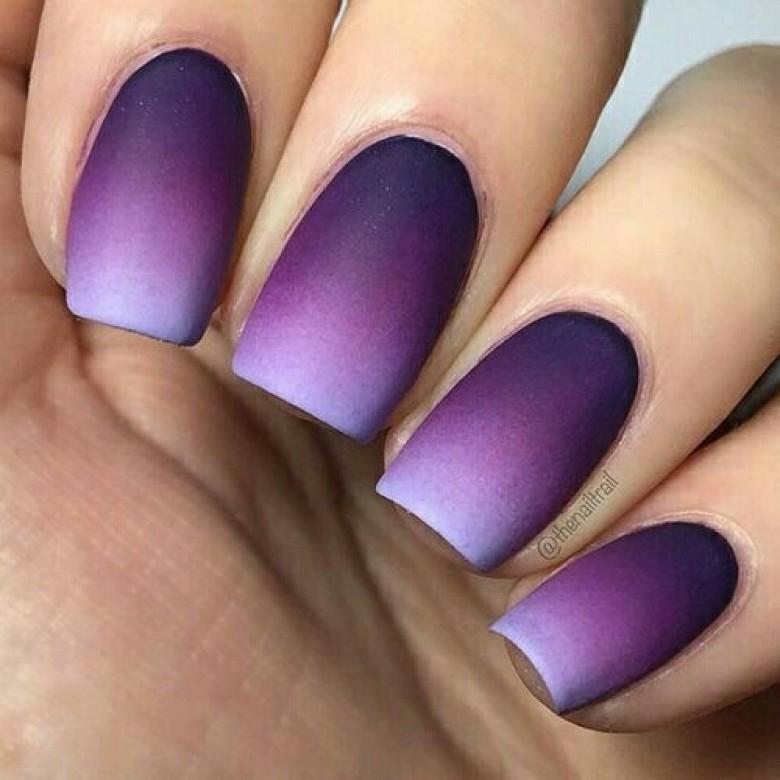 9) En tentant l\u0027ombré nails