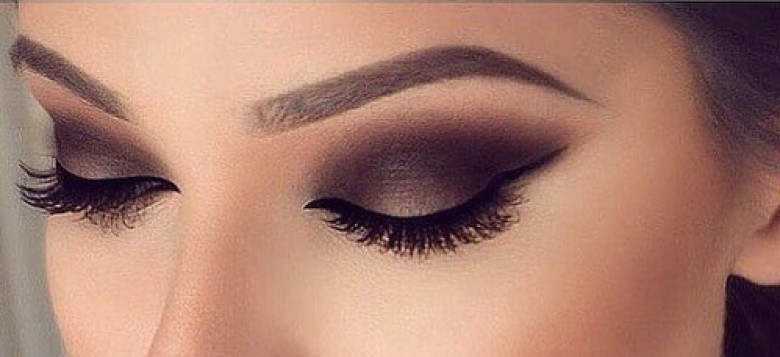 Maquillage nouvel an yeux marron - Maquillage de soiree yeux marron ...