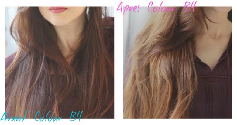 Enlever la coloration sur les cheveux