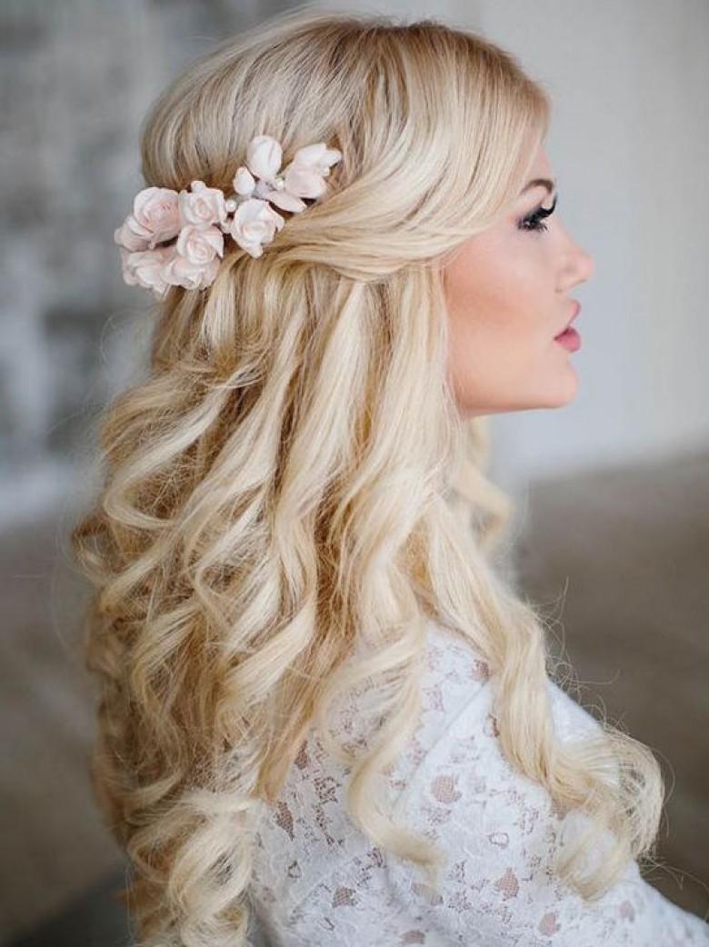 Coiffure Boucle Anglaise Pour Mariage Coupes De Cheveux Elegantes
