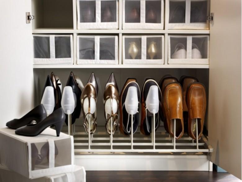20 incroyables fa ons de ranger pour toutes les accros aux - Rangement chaussures dressing ...