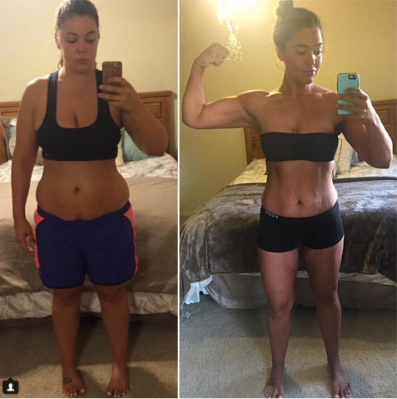 Cette Femme Perd 56 Kilos Grce Sa Promesse D1 Jour 1 Selfie