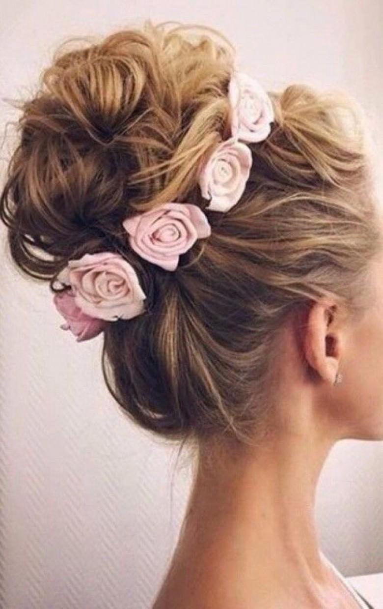 Connu Top 50 des coiffures à adopter à un mariage pour être l'invitée la  BL19