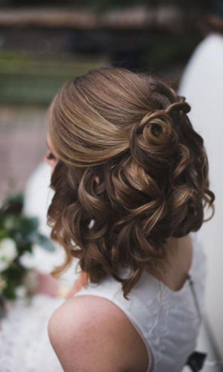 Modele coiffure mariage 2018
