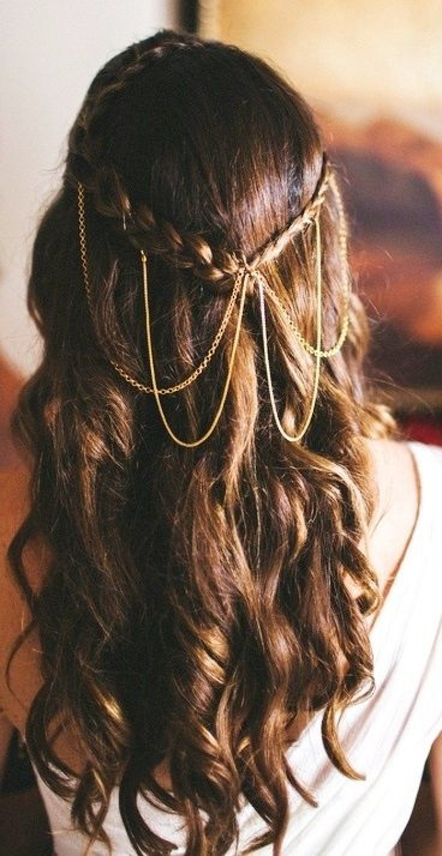 Coiffure De Mariage Cheveux Detaches Alsp