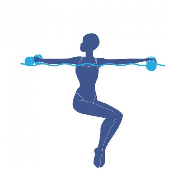 Cet t on bosse son workout dans la piscine les claireuses for Exercice piscine pour maigrir