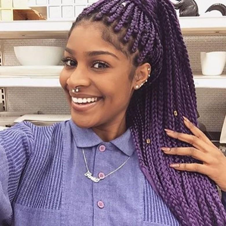 Top des coiffures tress es afro que vous voudrez adopter for Boite africaine paris