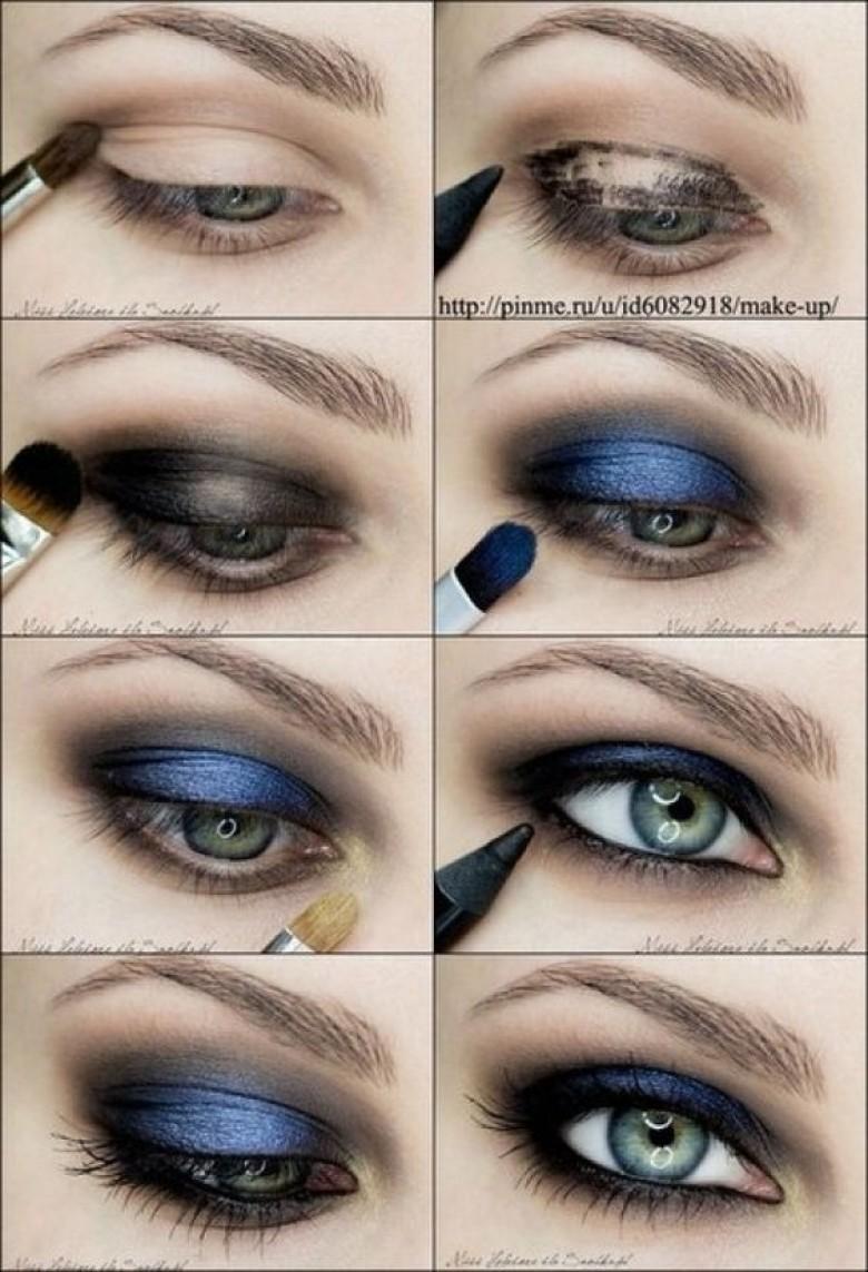 Super 35 idées de make-up pour les yeux bleus - Les Éclaireuses ON75