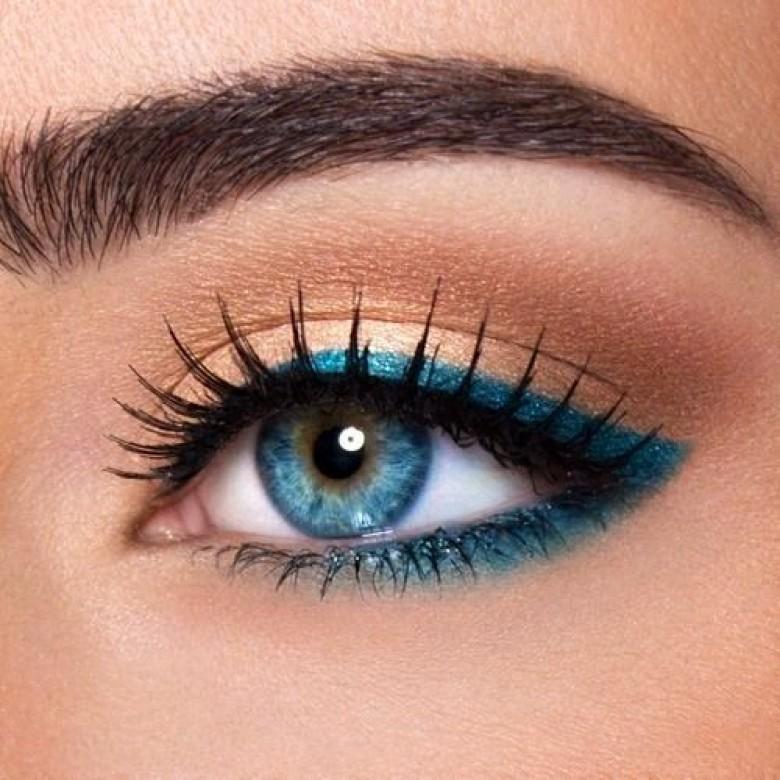 Assez 35 idées de make-up pour les yeux bleus - Les Éclaireuses RE35