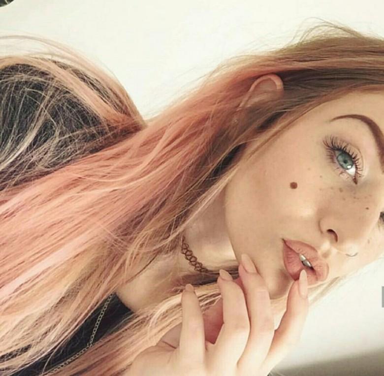 Pastel Peach Hair Pour Une Coloration Qui A La P 234 Che