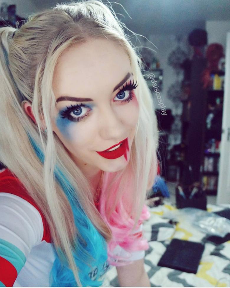 1) Harley Quinn dans Suicide Squad