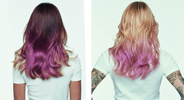Coloration cheveux rose pastel l'oreal