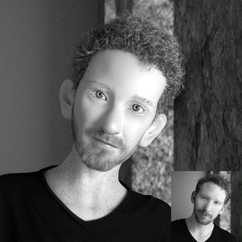 et si on transformait votre photo de profil en personnage. Black Bedroom Furniture Sets. Home Design Ideas