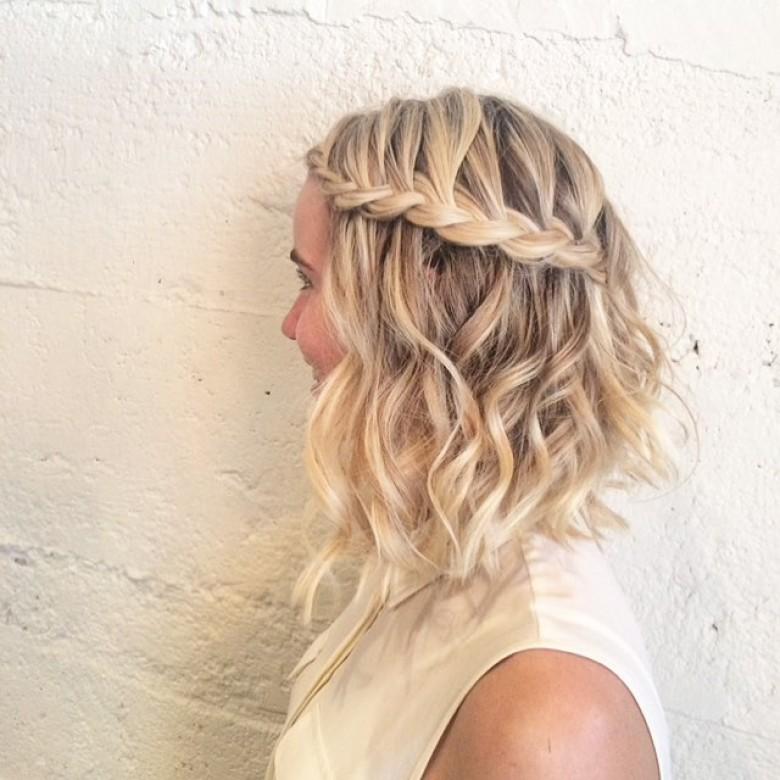coiffure pour blonde
