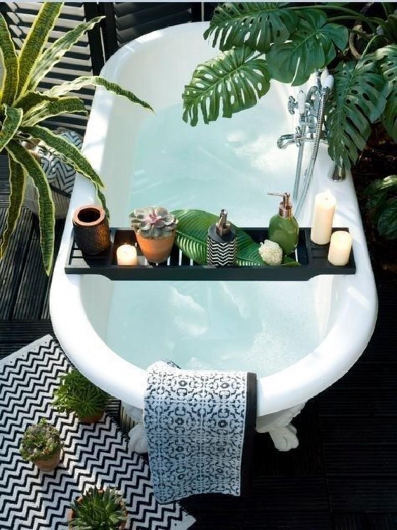 15 astuces d co pour faire de sa baignoire un endroit for Decoration pour baignoire