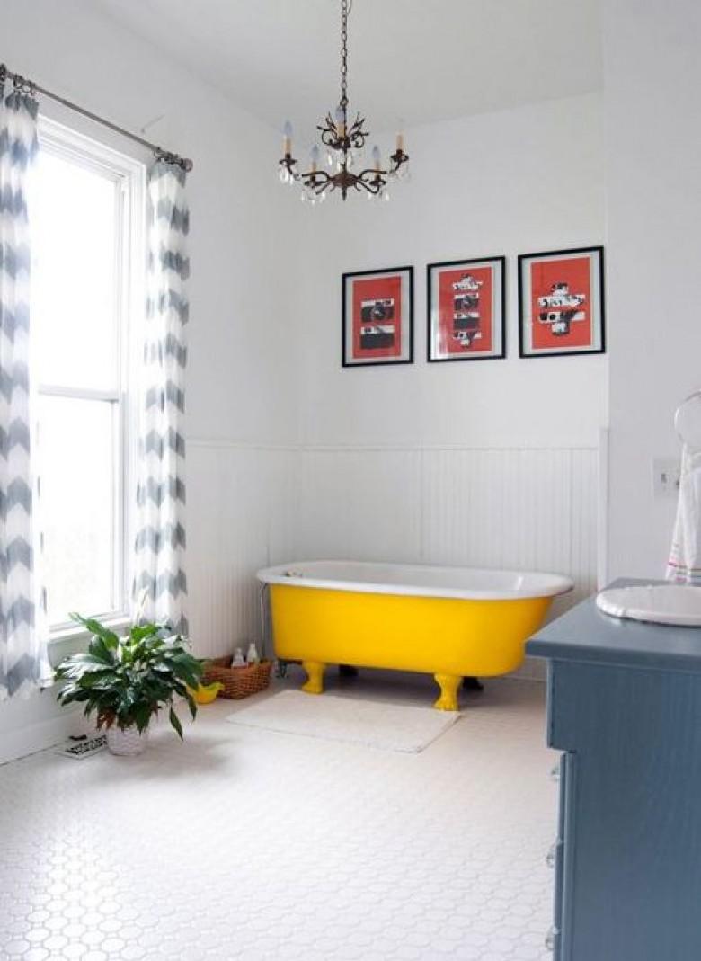 15 astuces d co pour faire de sa baignoire un endroit idyllique. Black Bedroom Furniture Sets. Home Design Ideas