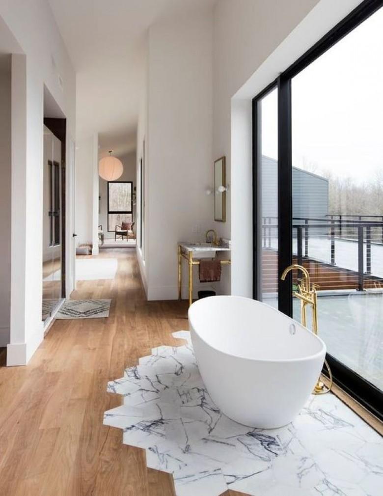 8 Un Sol Delimite Pour Faire De Votre Baignoire La Reine Salle Bain Source Cote Maison