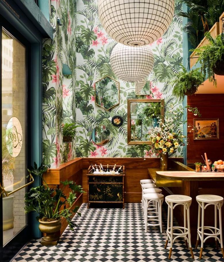 Kitchen Garden Cafe: Donnez Des Vacances à Votre Intérieur Avec Une Décoration