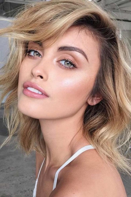 Resultado de imagen para natural makeup blue eyes