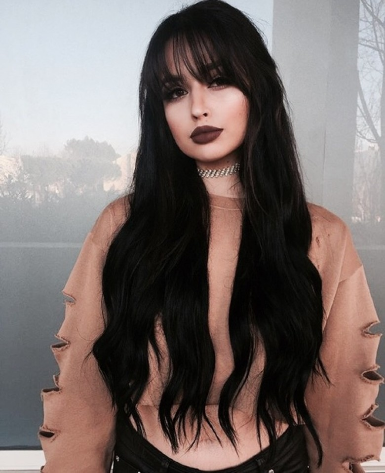 Emo Hairstyles And Long Hairstyle For Teens With Oval Face: 10 Sublimes Idées De Make-up Quand On Est Brune Aux Yeux