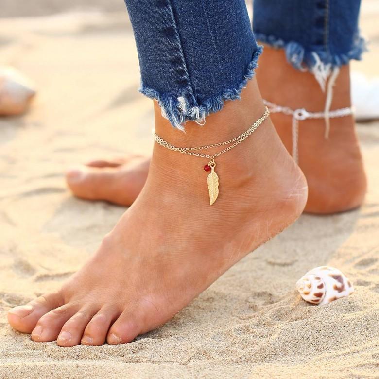 chaussures pour pas cher marque populaire qualité supérieure 40 bijoux hyper-stylés pour parer ses chevilles cet été !