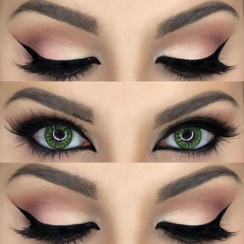 Smoky Eyes Pour Yeux Vert