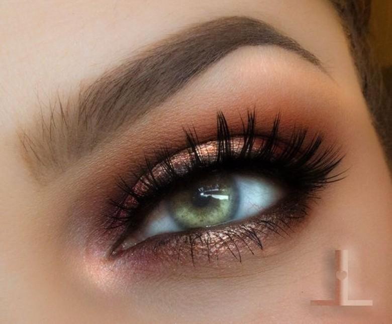 20 id es de make up pour les yeux verts les claireuses - Maquillage nud yeux vert ...