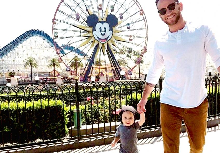 Hot dudes : des papas sexy à Disneyland