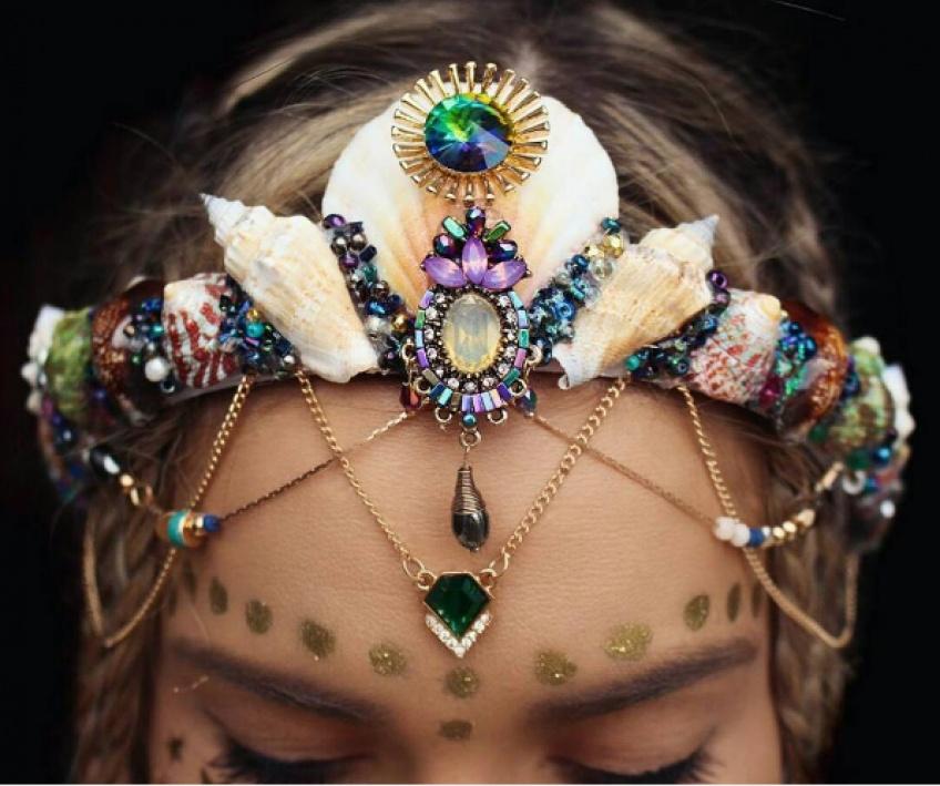 #Headband : troquez les fleurs pour des coquillages !