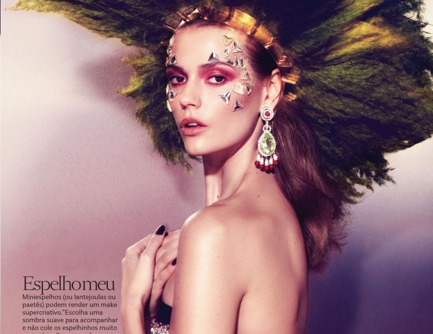 Les make-up en strass, la nouvelle vague beauté des soirées d'été