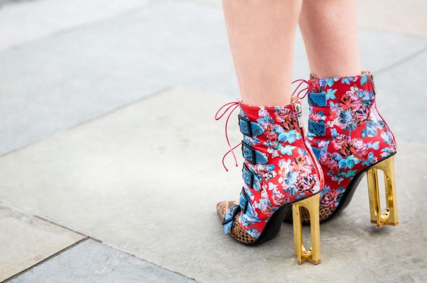 #Trend : Le motif tapisserie s'invite sur vos chaussures