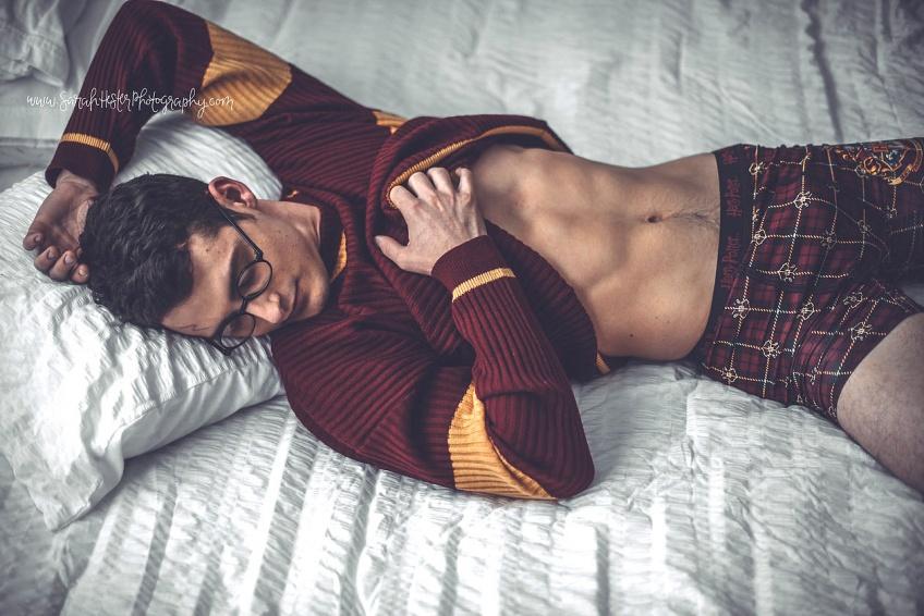 Un shooting super sex à thème Harry Potter