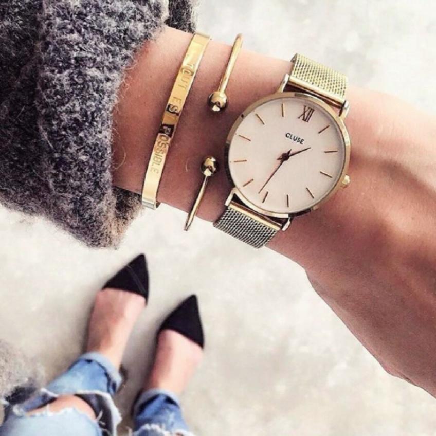 Instant Découverte #48 : Des poignets habillés de montres Cluse