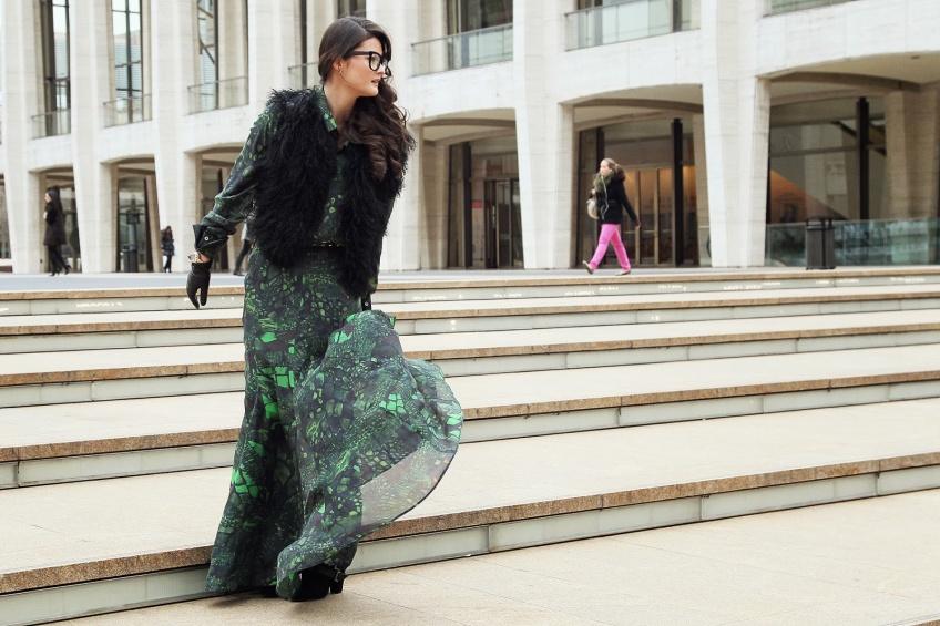 La robe longue joue les prolongations cet hiver